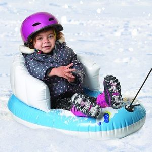 Pipeline cool bear kids snow sled new  1-3 yr old